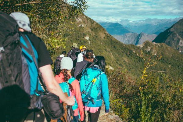 La randonnée comme activité de plein air  (techniques de naturopathie)